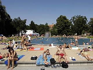 Sommerspaß im Schyrenbad. © SWM