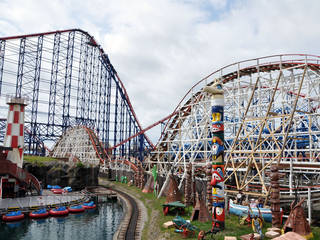 Blackpool Pleasure Beach in Blackpool