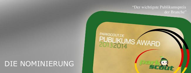 Parkscout Publikums Award 2013/2014
